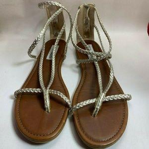 Steve Madden Koryy Strap Sandals Size 7.5 M Womens